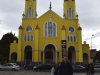 Puenta Arenas, Chile.  The kindergarteners pick the colors of the church every 3 years!  Cute!!!