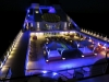 The ship at night!